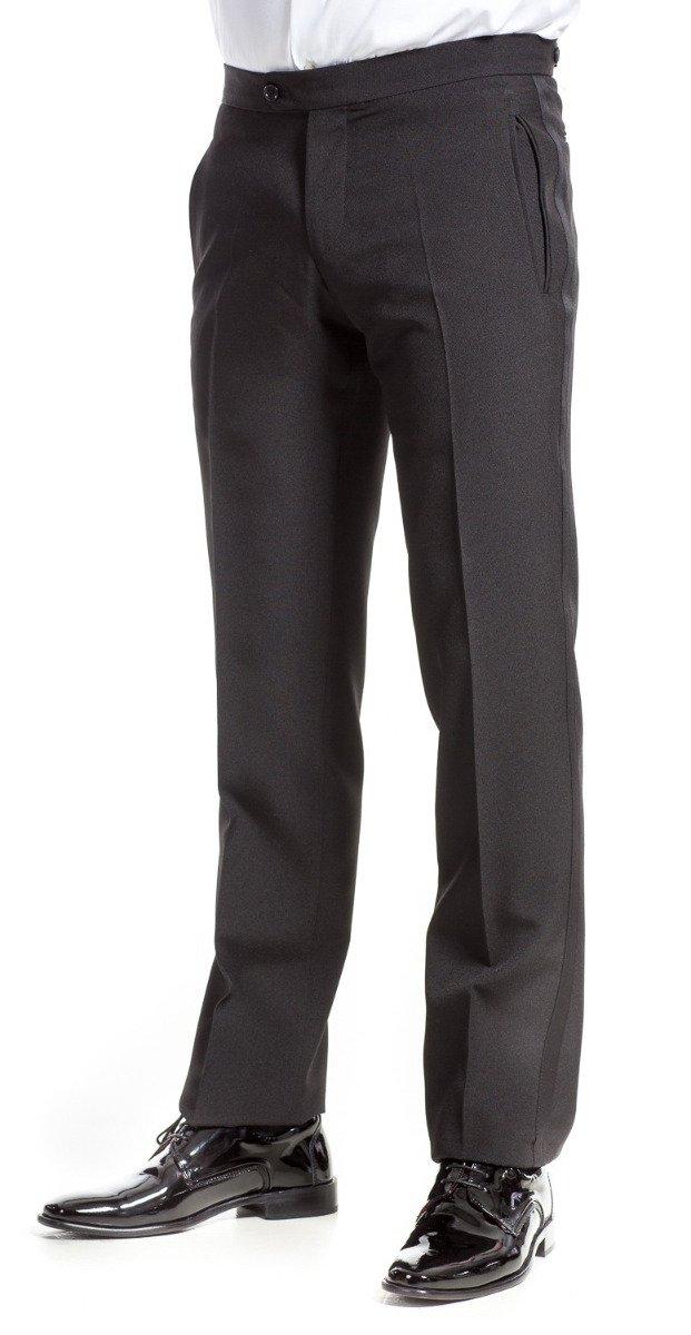 qualità superiore belle scarpe vende Pantaloni da frac, neri, microfibra